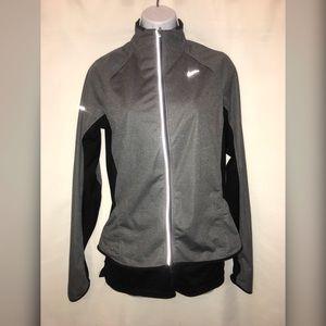 Nike - gray & black running jacket!
